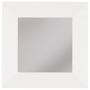 Signature Design by Ashley Furniture Accent Mirrors Odelyn White Wall Mirror