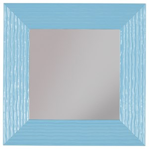 Signature Design by Ashley Accent Mirrors Odelyn Aqua Wall Mirror