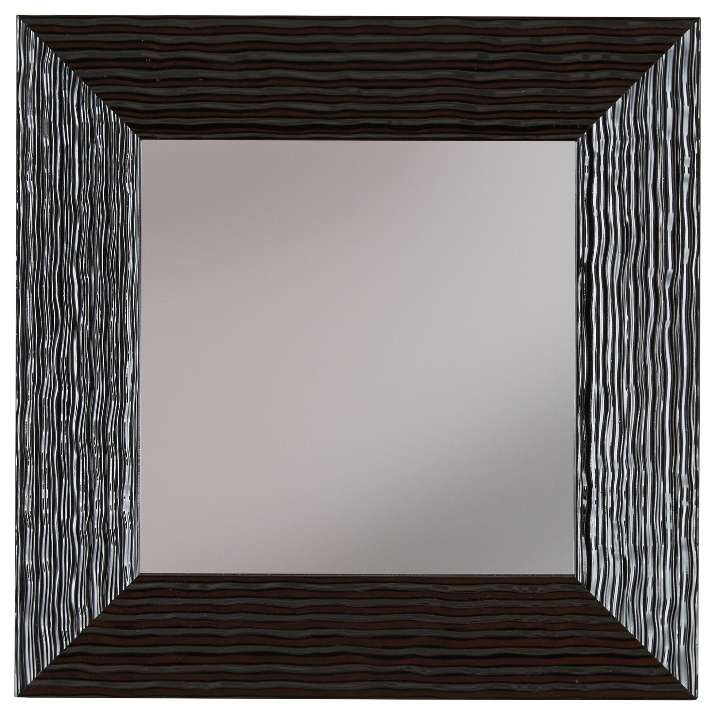 Signature Design by Ashley Accent Mirrors Odelyn Black Wall Mirror - Item Number: A8010012