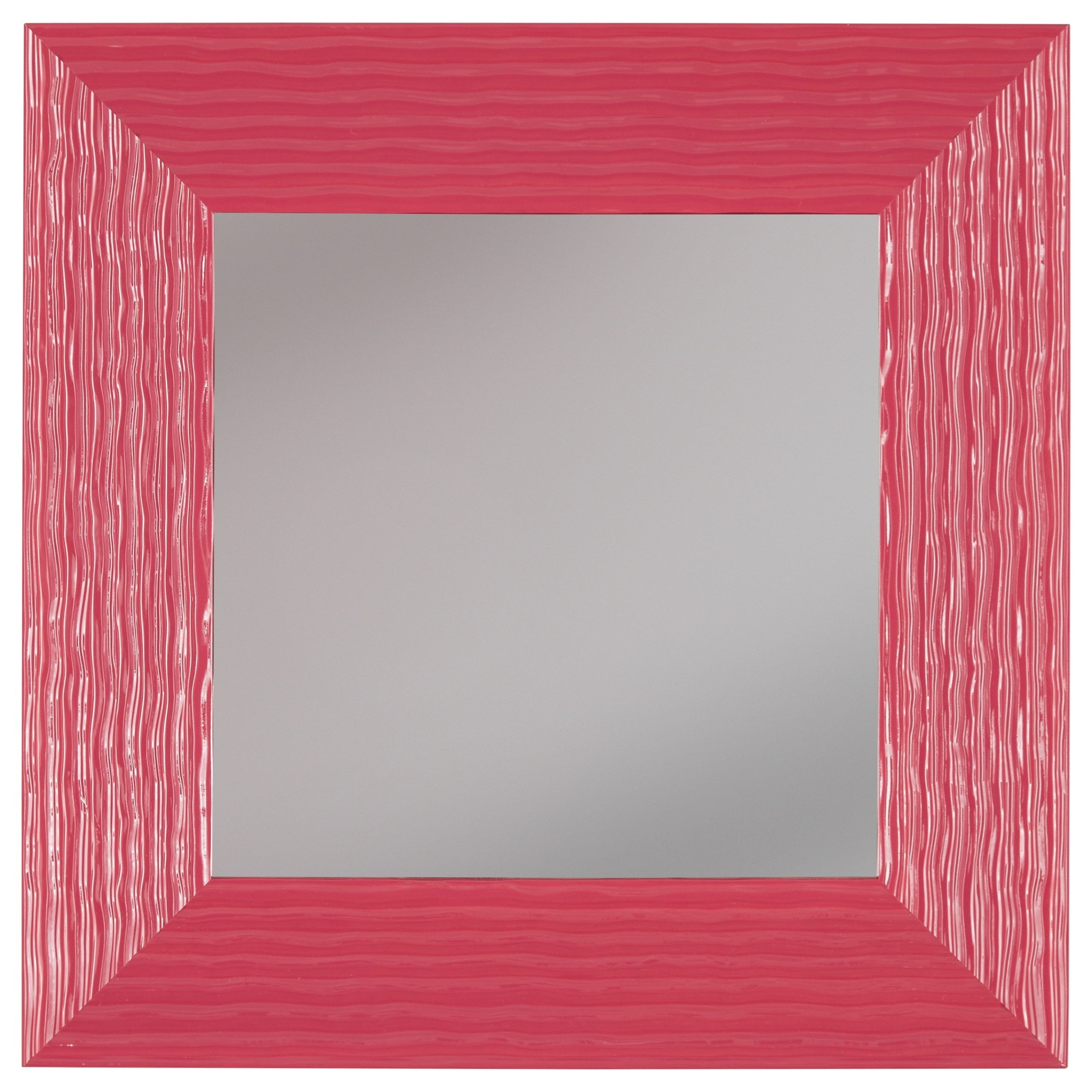 Signature Design by Ashley Accent Mirrors Odelyn Fuchsia Wall Mirror - Item Number: A8010013