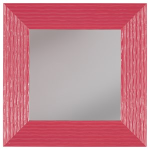Signature Design by Ashley Furniture Accent Mirrors Odelyn Fuchsia Wall Mirror