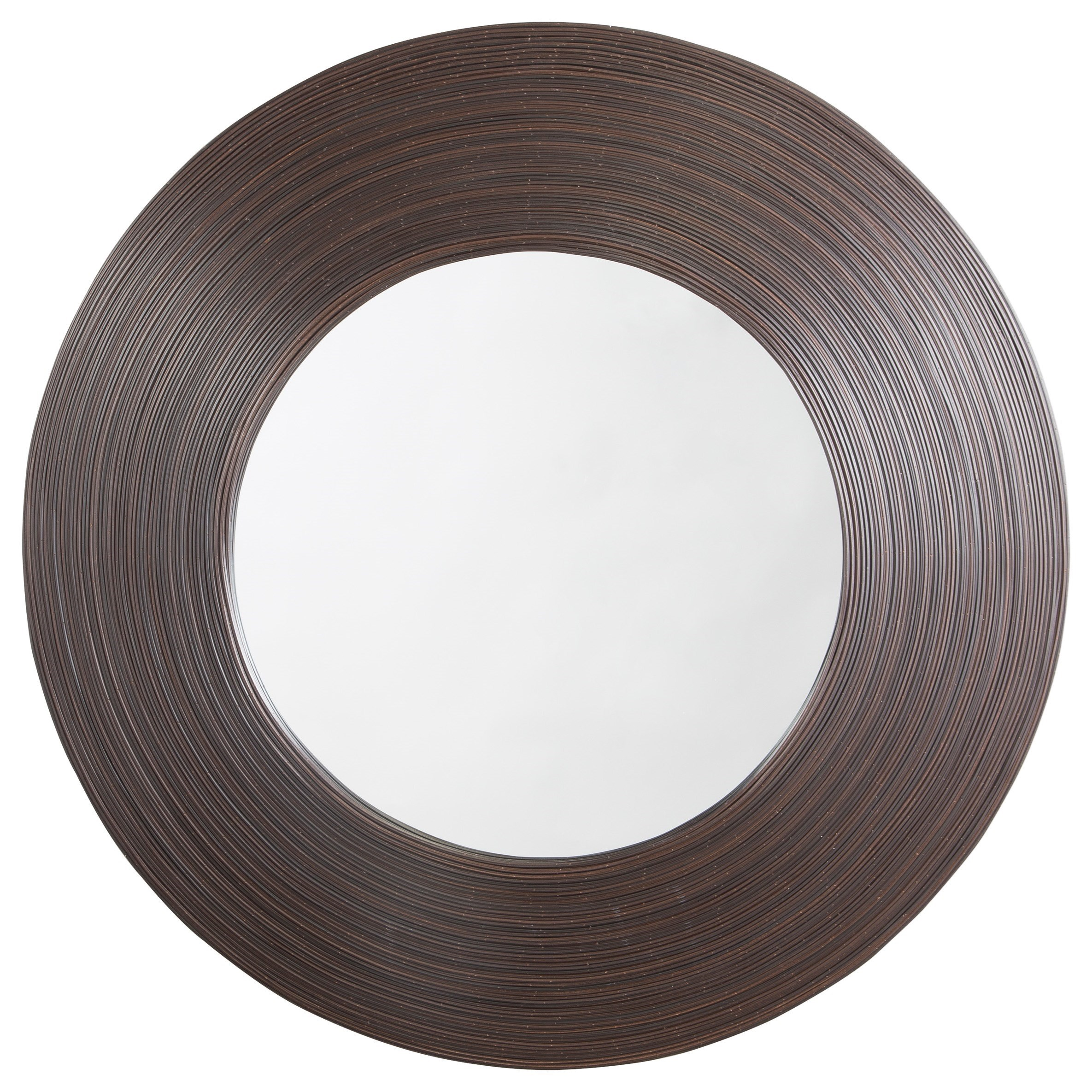 Signature Design by Ashley Furniture Accent Mirrors Odeletta Brown Accent Mirror - Item Number: A8010022