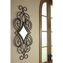 Signature Design by Ashley Accent Mirrors Oilbhe Black Accent Mirror