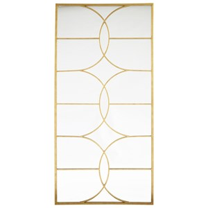 Eamon Antique Gold Accent Mirror