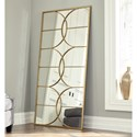 Signature Design by Ashley Accent Mirrors Eamon Antique Gold Accent Mirror