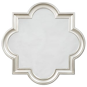 Signature Design by Ashley Accent Mirrors Desma Gold Finish Accent Mirror
