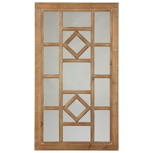 Signature Design by Ashley Furniture Accent Mirrors Dreama Natural Accent Mirror