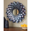 Signature Design by Ashley Accent Mirrors Deunoro Blue Accent Mirror
