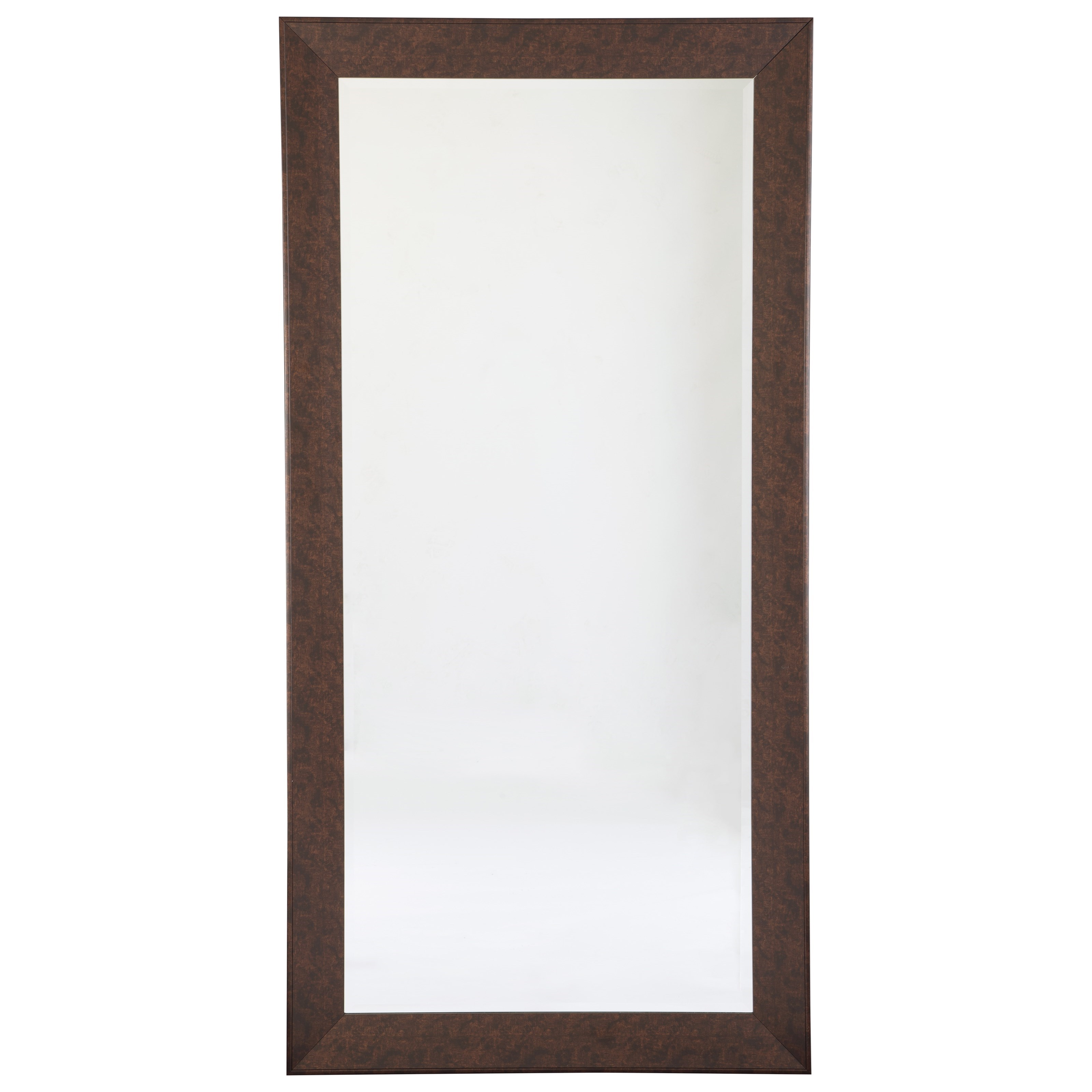 Accent Mirrors Duha Brown Accent Mirror at Van Hill Furniture