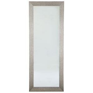 Ashley Signature Design Accent Mirrors Duka Silver Finish Accent Mirror
