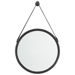 Ashley Signature Design Accent Mirrors Dusan Black Accent Mirror