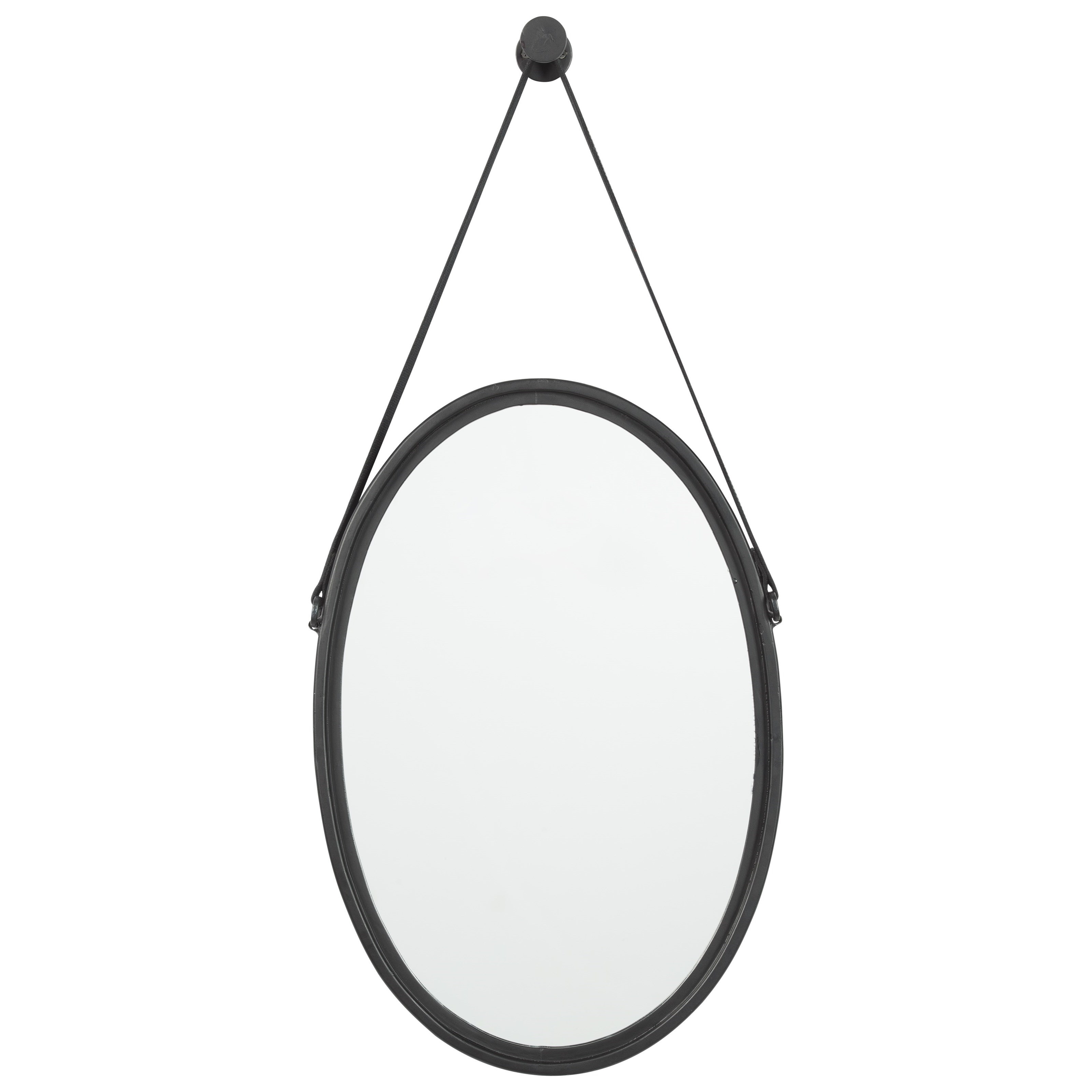 Signature Design by Ashley Accent Mirrors Dusan Black Accent Mirror - Item Number: A8010095