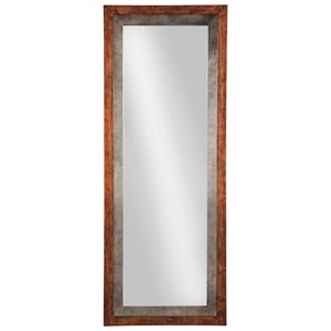 Ashley Signature Design Accent Mirrors Niah Brown/Silver Finish Accent Mirror