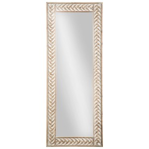 Ashley Signature Design Accent Mirrors Nash Natural Accent Mirror
