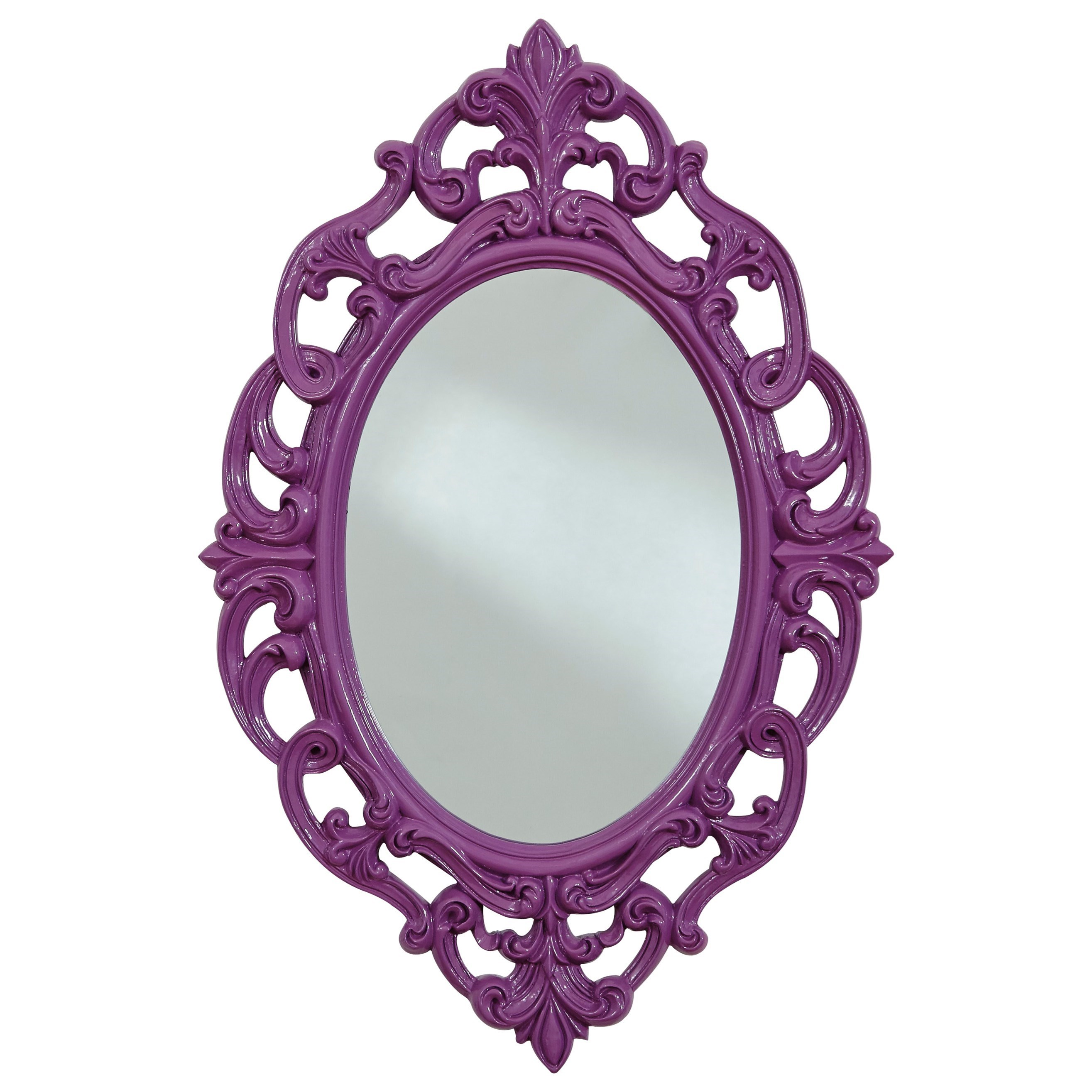 Signature Design by Ashley Accent Mirrors Diza Purple Accent Mirror - Item Number: A8010102