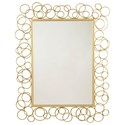 Signature Design by Ashley Accent Mirrors Contemporary Dhaval Gold Finish Accent Mirror