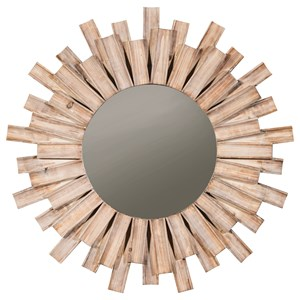 Signature Design by Ashley Furniture Accent Mirrors Donata Natural Accent Mirror