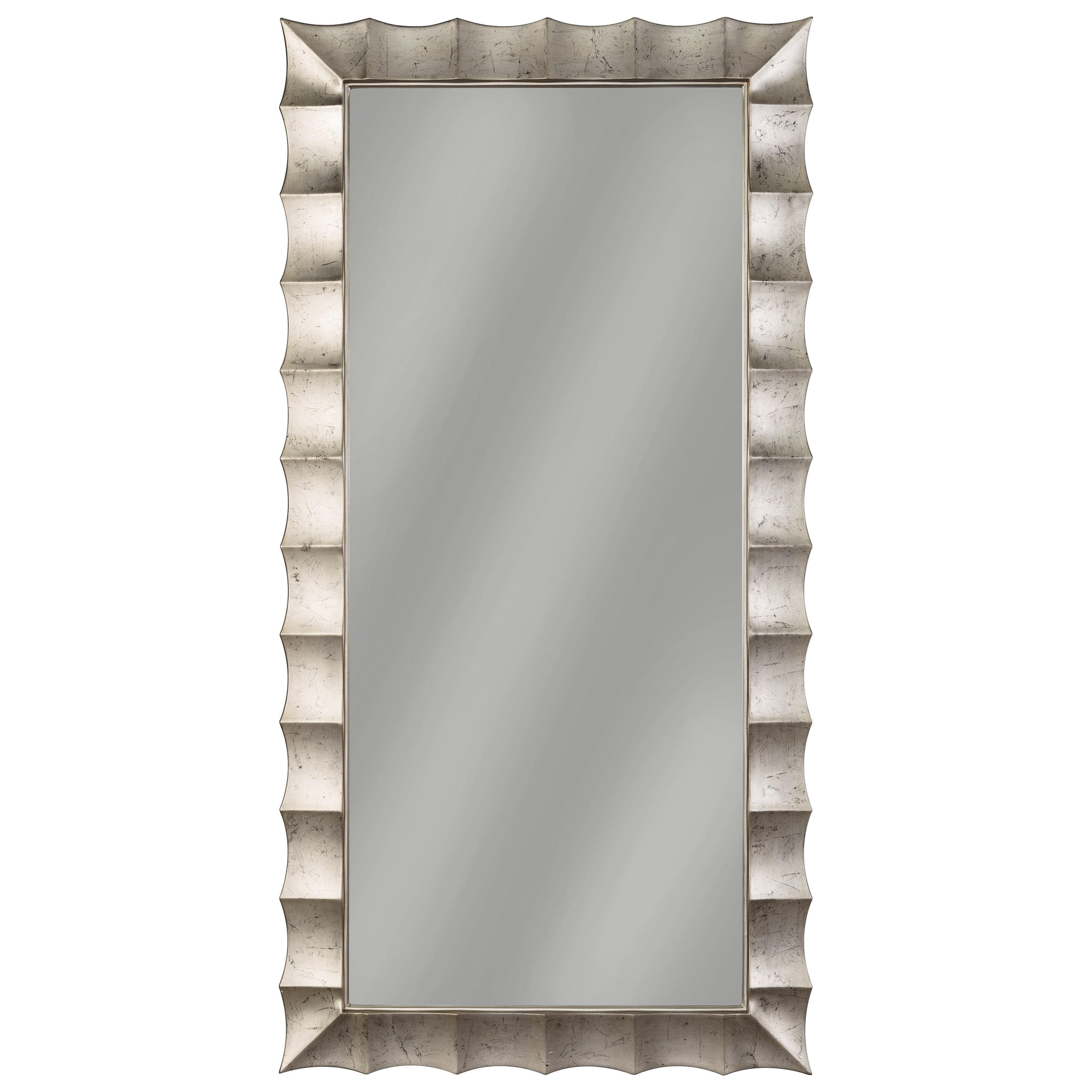 Signature Design by Ashley Accent Mirrors Laasya Antique Silver Finish Accent Mirror - Item Number: A8010122