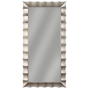 Signature Design by Ashley Furniture Accent Mirrors Laasya Antique Silver Finish Accent Mirror