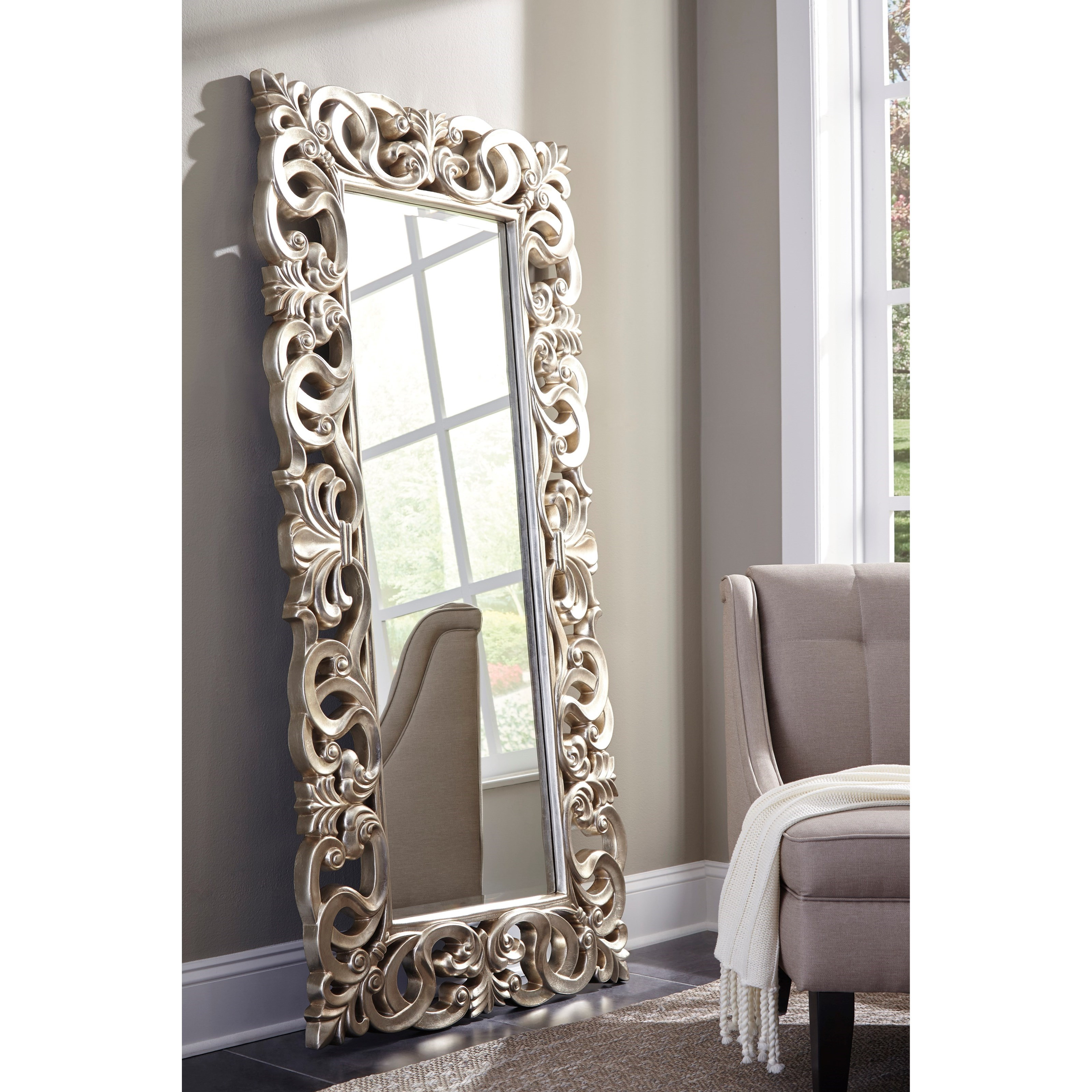 Signature Design By Ashley Accent Mirrors A8010123 Lucia
