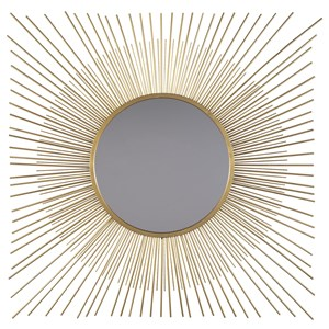 Ashley Signature Design Accent Mirrors Elspeth Gold Finish Accent Mirror