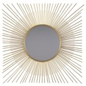 Signature Design Accent Mirrors Elspeth Gold Finish Accent Mirror - Item Number: A8010124