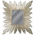 Ashley (Signature Design) Accent Mirrors Antonia Antique Silver Finish Accent Mirror - Item Number: A8010133