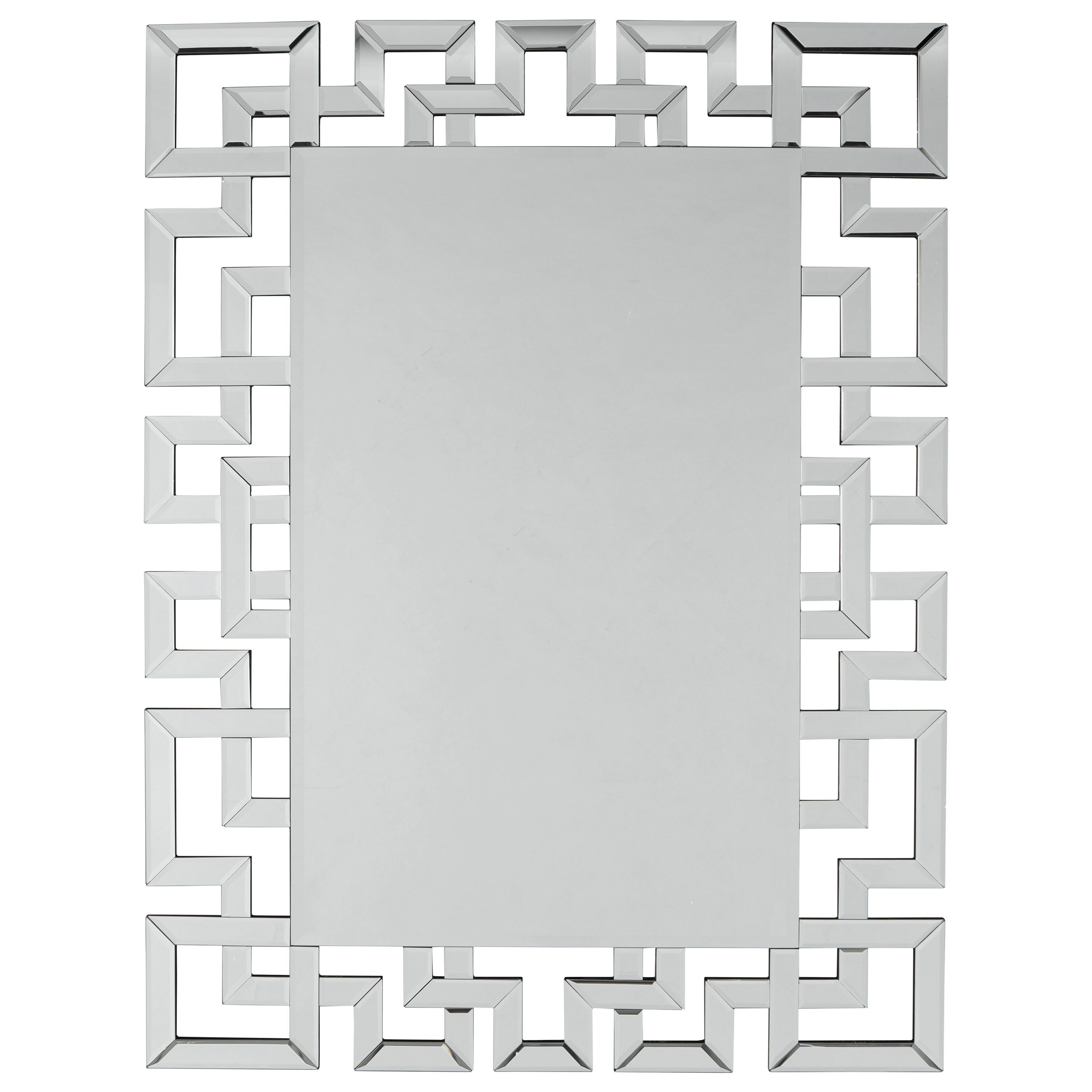 Signature Design By Ashley Accent Mirrors A8010135 Jasna Greek Key Accent Mirror Furniture And Appliancemart Wall Mirrors