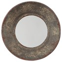 Signature Design by Ashley Accent Mirrors Carine Distressed Gray Accent Mirror - Item Number: A8010145
