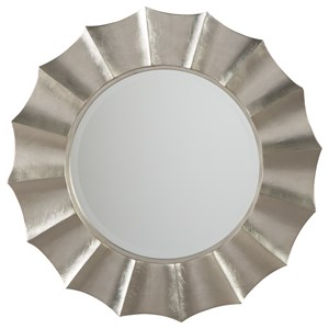 Ashley Signature Design Accent Mirrors Elsley Silver Finish Accent Mirror