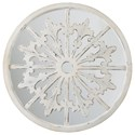 Ashley (Signature Design) Accent Mirrors Emlen Antique White Accent Mirror - Item Number: A8010152