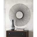 Signature Design by Ashley Accent Mirrors Contemporary Dooley Black Accent Mirror