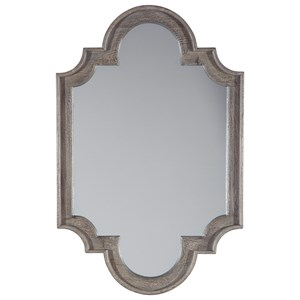 Williamette Antique Gray Accent Mirror