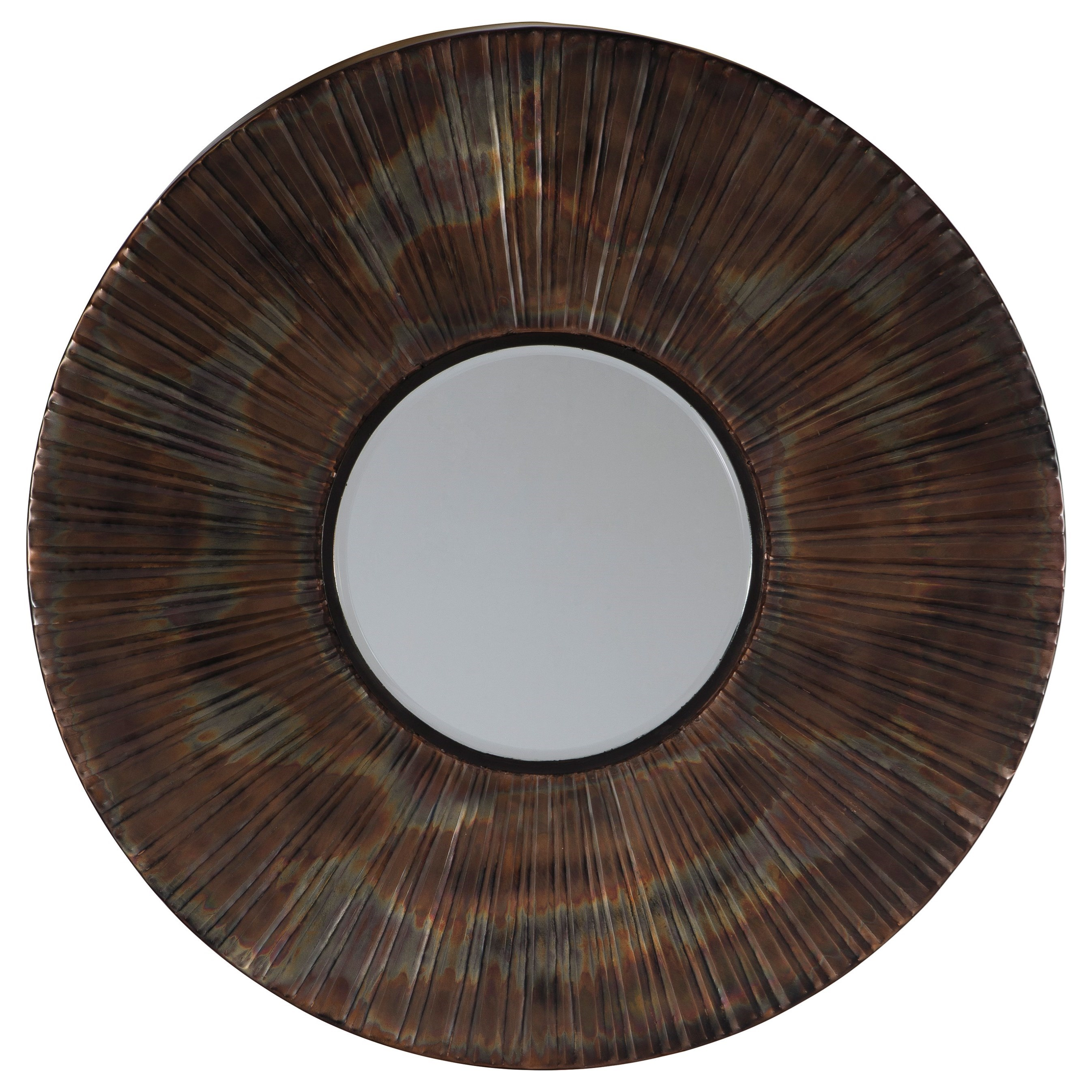 Bartleby Copper/Bronze Finish Accent Mirror