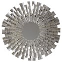 Signature Design by Ashley Accent Mirrors Zelenak Silver Finish Accent Mirror - Item Number: A8010164