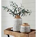 Signature Design by Ashley Accents Meghan Tan/Black Vase Set