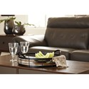 Signature Design by Ashley Accents Diantha Black/Natural Tray