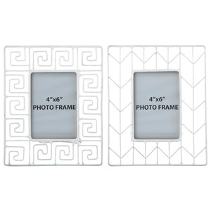 Signature Design by Ashley Furniture Accents Achava Photo Frame (Set of 2)