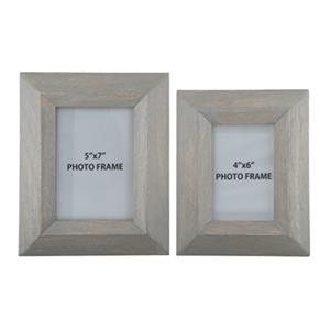 Cadewyn Gray Photo Frames (Set of 2)