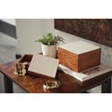 Signature Design by Ashley Accents Kabecka Brown/Cream Boxes (Set of 2)
