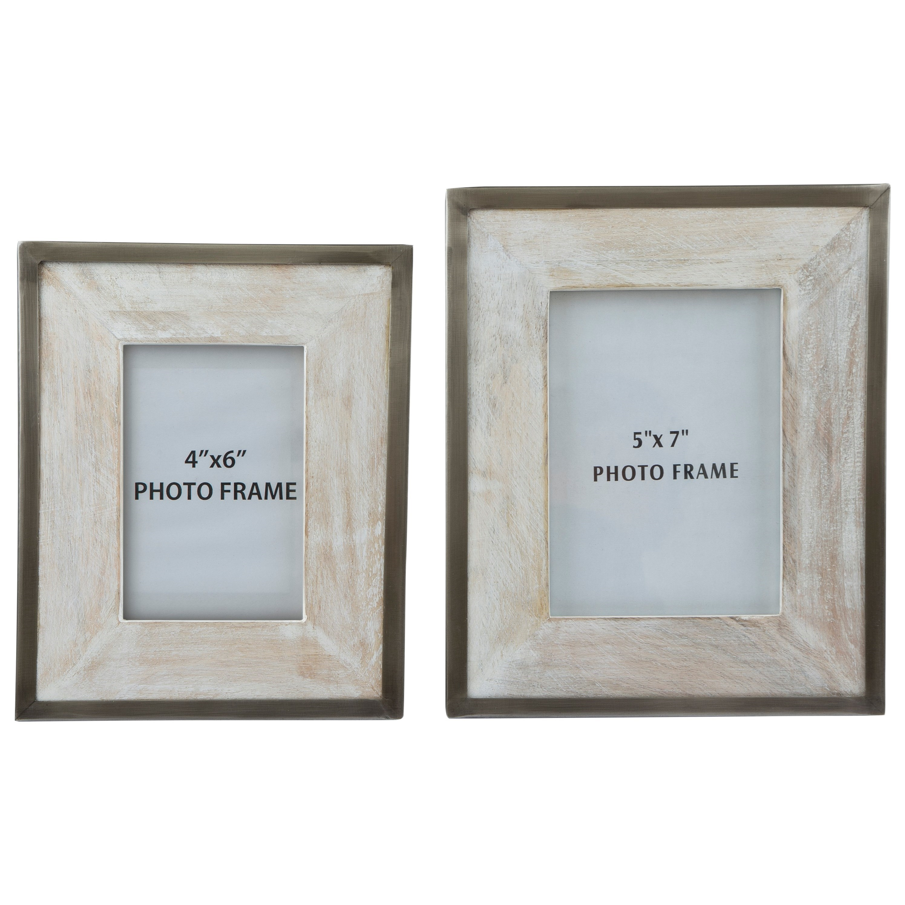 Signature Design by Ashley Accents Kadija Photo Frame (Set of 2) - Item Number: A2000178F