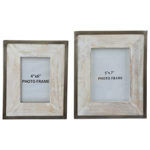 Signature Design by Ashley Accents Kadija Photo Frame (Set of 2)