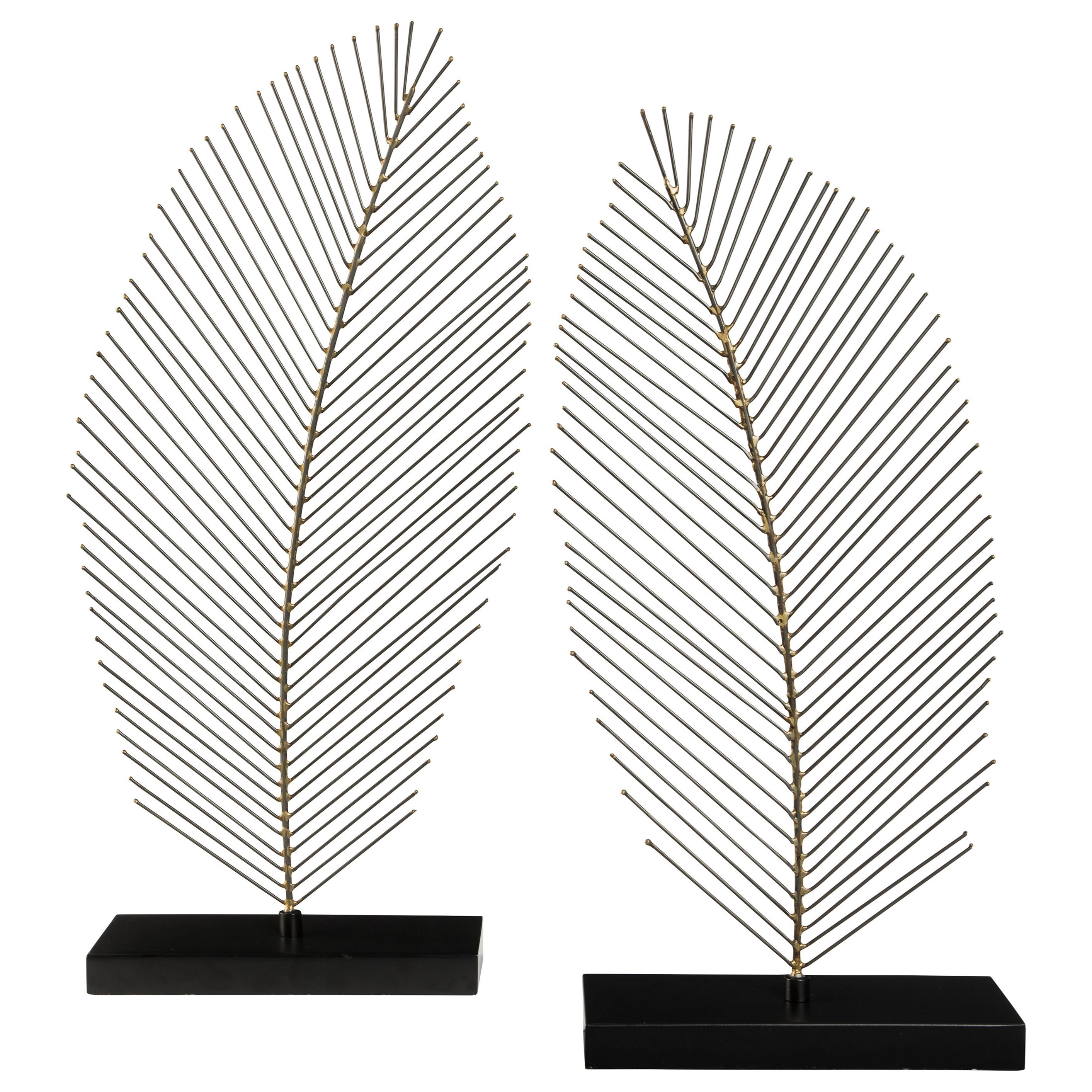Eleutheria Gray/Black Sculpture Set