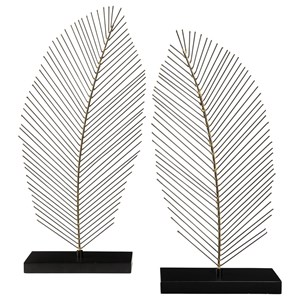 Ashley Signature Design Accents Eleutheria Gray/Black Sculpture Set