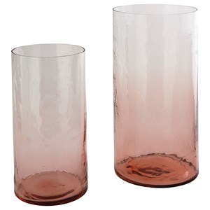 Devona Pink Vase Set