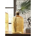 Signature Design by Ashley Furniture Accents Octavie Amber Vase