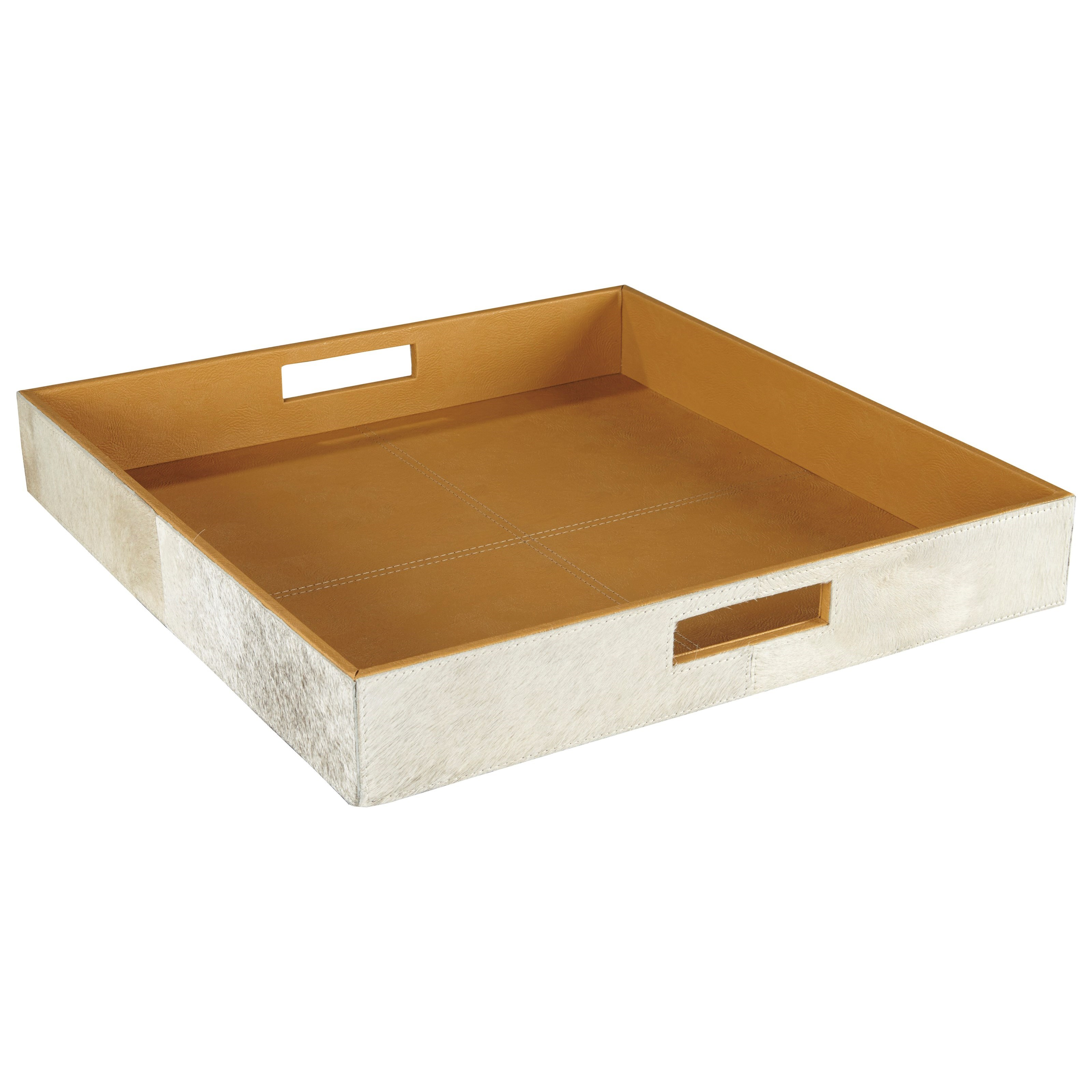 Signature Design by Ashley Accents Odeda Beige Tray - Item Number: A2000229T