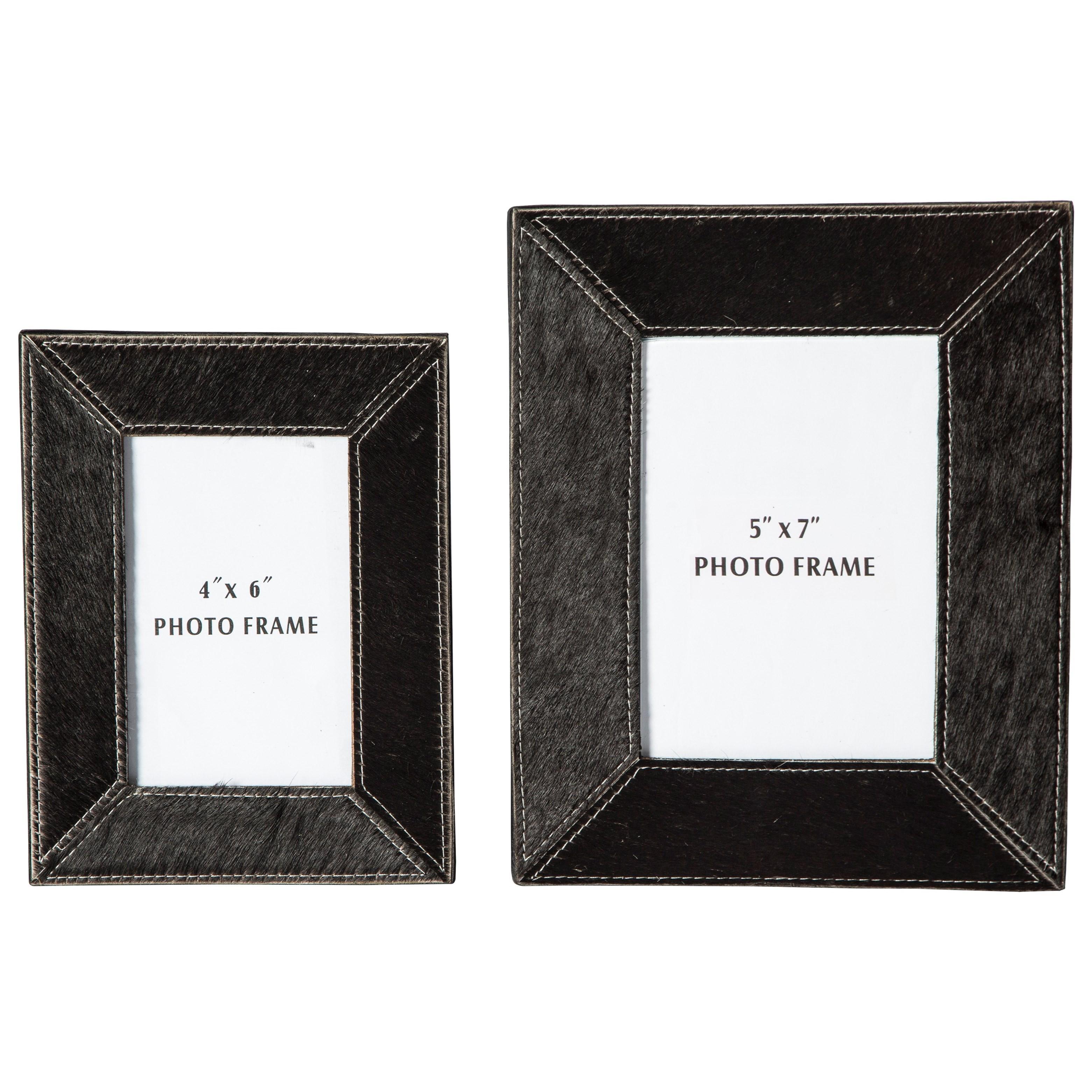 Accents Odeda Black Photo Frame (Set of 2) by Ashley Furniture Signature Design at Del Sol Furniture
