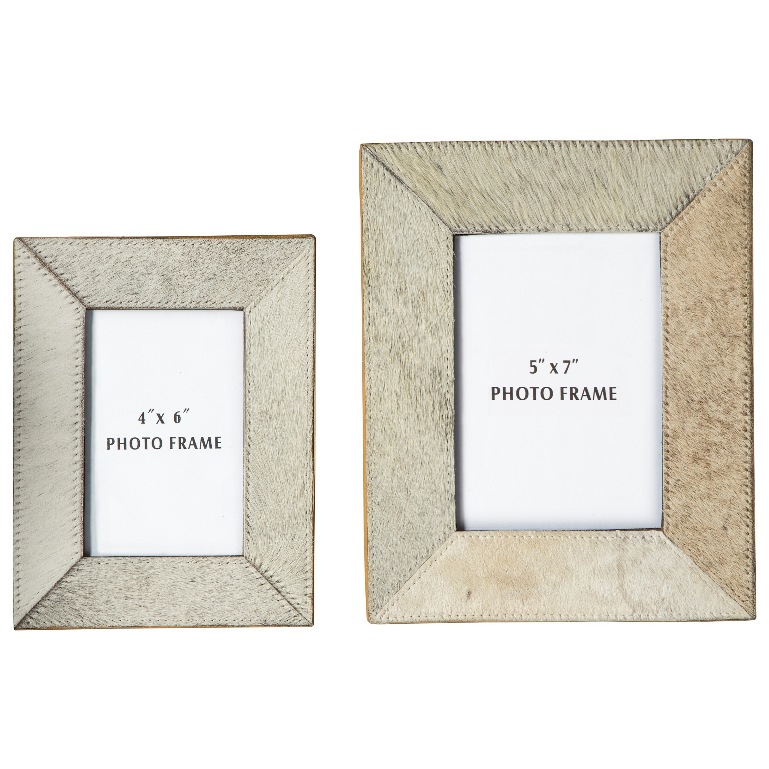 Signature Design by Ashley Accents Odeda Beige Photo Frame (Set of 2) - Item Number: A2000232F