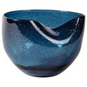 Signature Design by Ashley Accents Didrika Blue Bowl - Item Number: A2000241B